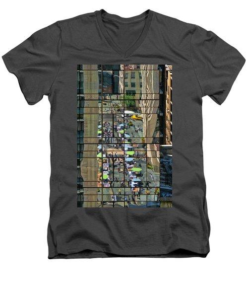 Rock Street Fair Men's V-Neck T-Shirt