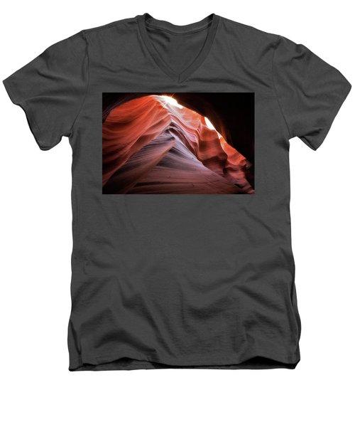 Rock Waves Men's V-Neck T-Shirt