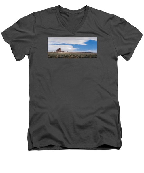 Rock With Wings Men's V-Neck T-Shirt