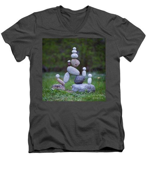 Rock Yoga Men's V-Neck T-Shirt