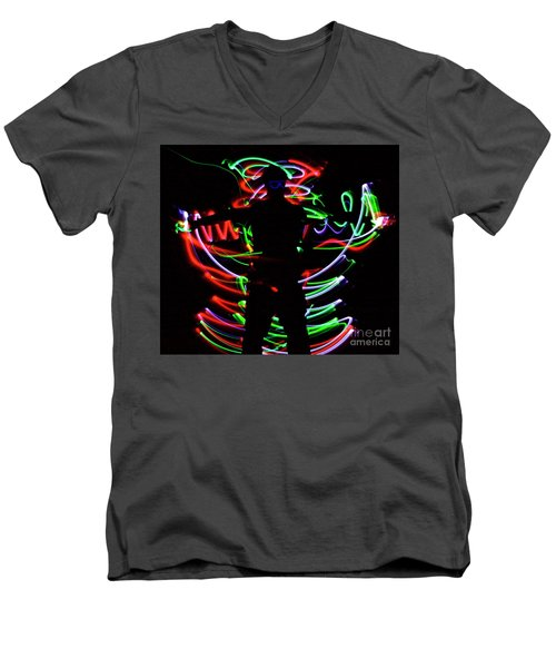 Rockin' In The Dead Of Night Men's V-Neck T-Shirt