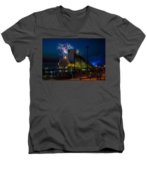 Rocking Fireworks Men's V-Neck T-Shirt