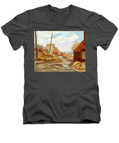 Rockport Coast Men's V-Neck T-Shirt