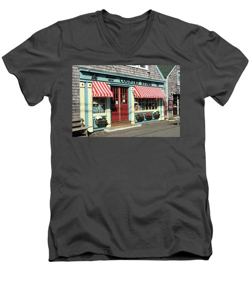 Rockport Country Store Men's V-Neck T-Shirt
