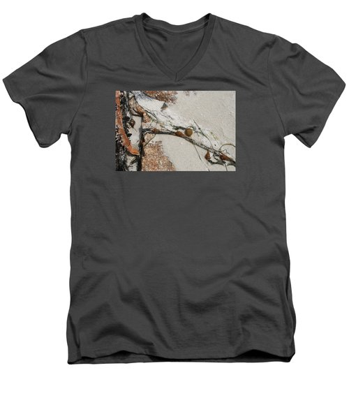 Rocks Longside Men's V-Neck T-Shirt