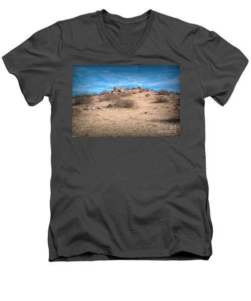 Rocks On The Hill Men's V-Neck T-Shirt