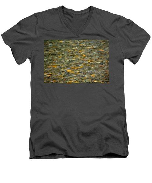Rocks Under Water Men's V-Neck T-Shirt