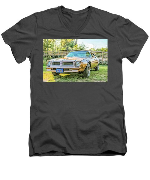 Men's V-Neck T-Shirt featuring the photograph Rocky Front by Brian Wright