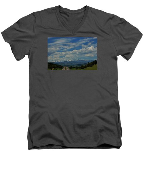 Colorado Rocky Mountain High Men's V-Neck T-Shirt