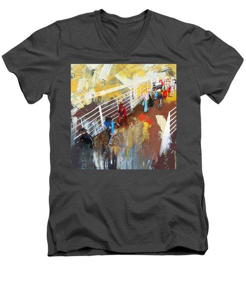 Rodeo 41 Men's V-Neck T-Shirt