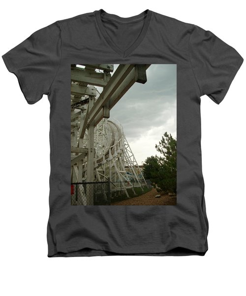 Roller Coaster 5 Men's V-Neck T-Shirt