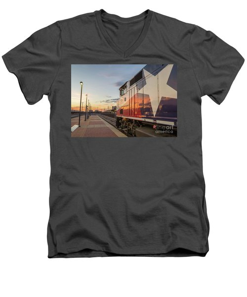 Rolling Into The Sunset Men's V-Neck T-Shirt