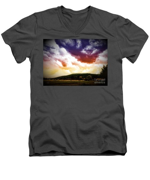 Rolling Thunder Men's V-Neck T-Shirt
