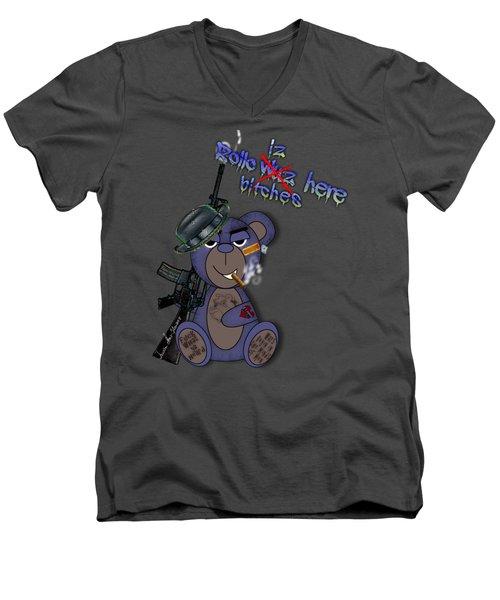 Rollo Iz Here Men's V-Neck T-Shirt