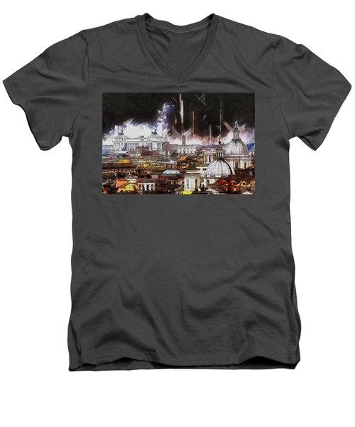 Roma Aeterna Men's V-Neck T-Shirt
