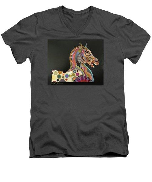 Roman Horse Men's V-Neck T-Shirt