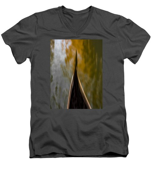 Romancing The Gondola Men's V-Neck T-Shirt