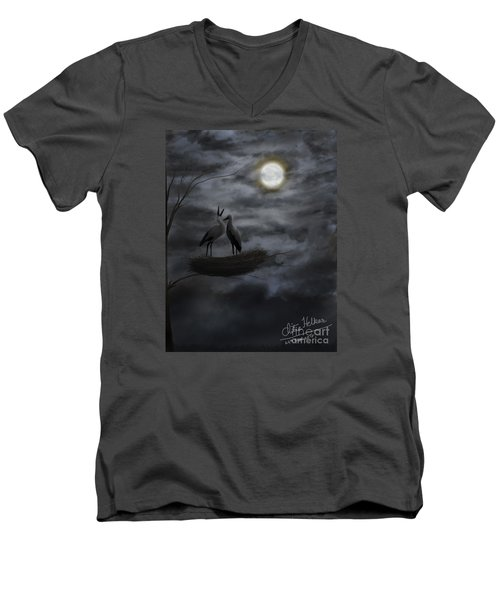 Night Sky Men's V-Neck T-Shirt