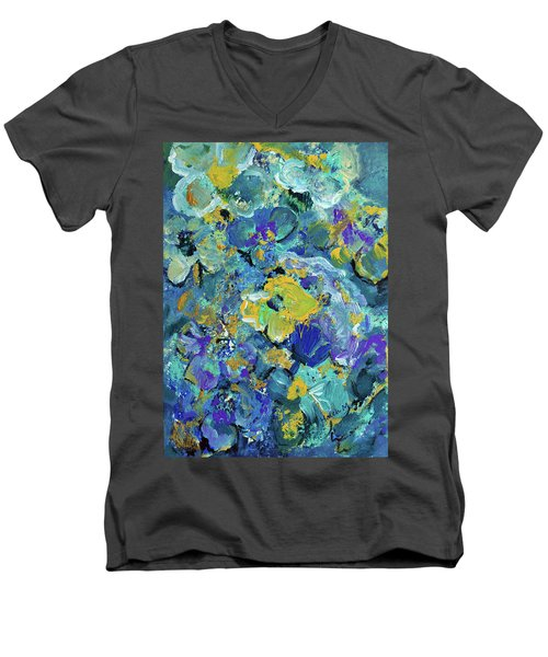 Romantic Roses S4 Men's V-Neck T-Shirt