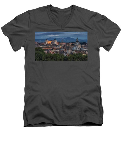 Rome Twilight Men's V-Neck T-Shirt