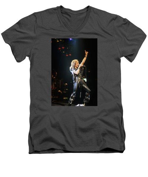 Ronnie James Dio Men's V-Neck T-Shirt