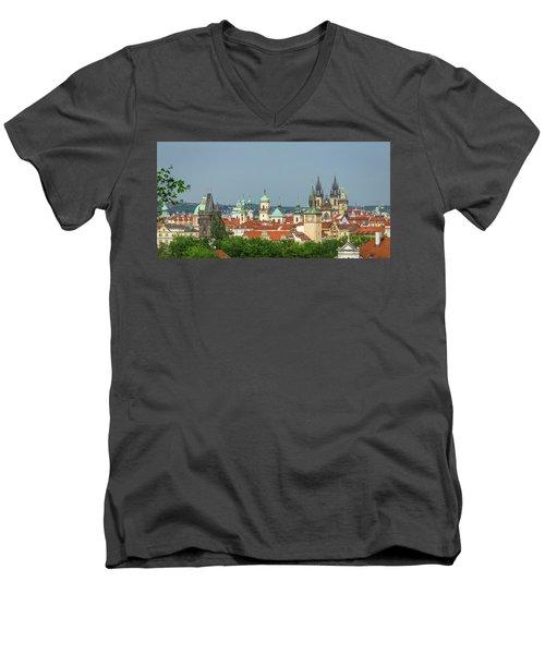 Rooftops Men's V-Neck T-Shirt