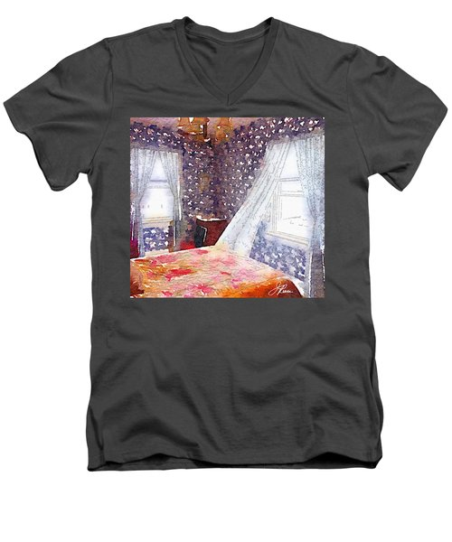 Room 803 Men's V-Neck T-Shirt