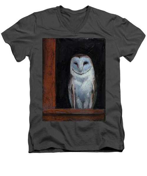 Room With A View Men's V-Neck T-Shirt by Billie Colson