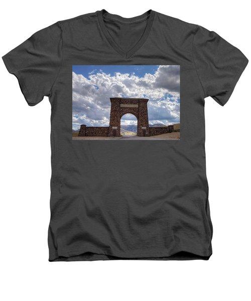 Roosevelt Arch Men's V-Neck T-Shirt