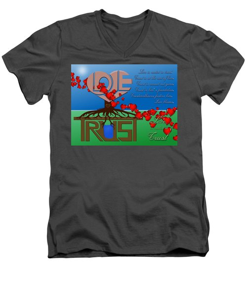 Rooted In Trust Men's V-Neck T-Shirt