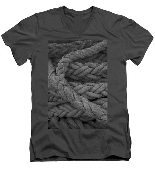 Rope I Men's V-Neck T-Shirt