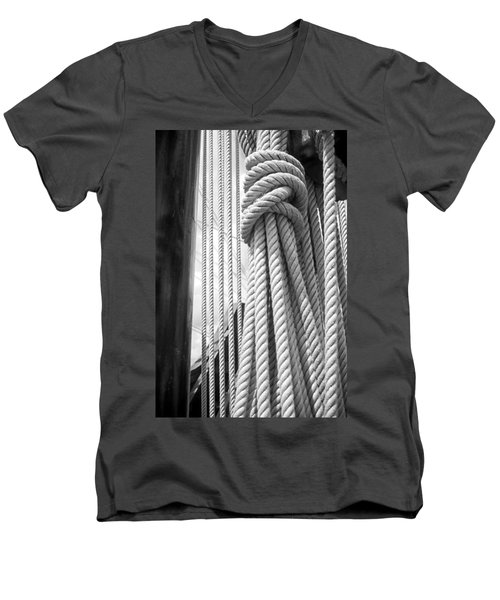 Ropes From The Past Men's V-Neck T-Shirt