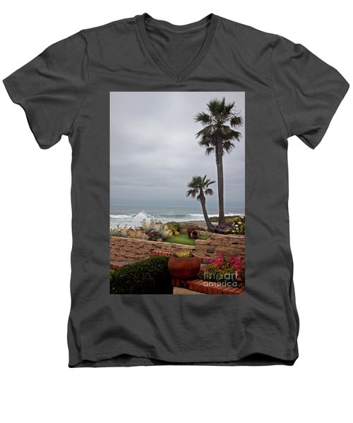 Rosarito Beach Men's V-Neck T-Shirt by Ivete Basso Photography