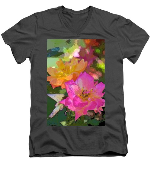 Rose 114 Men's V-Neck T-Shirt