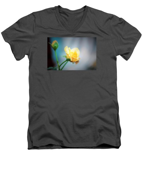 Rose Bling Men's V-Neck T-Shirt