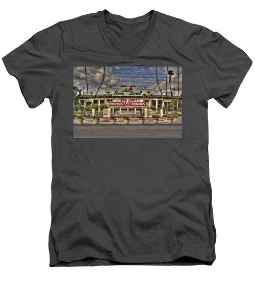 Rose Bowl Hdr Men's V-Neck T-Shirt