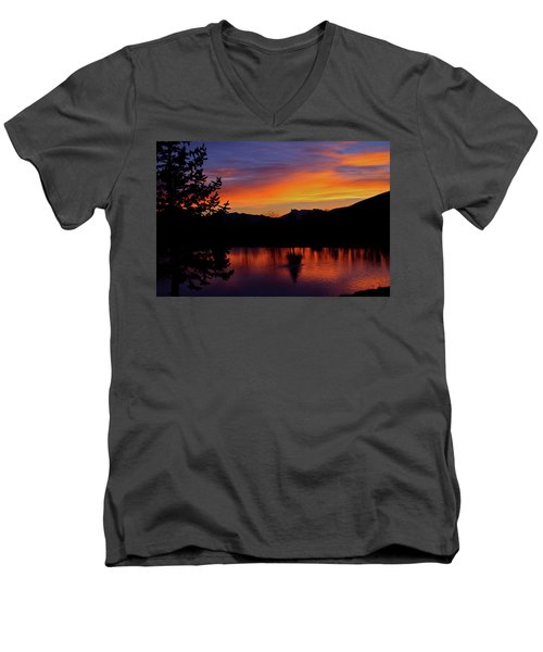 Rose Canyon Morning Men's V-Neck T-Shirt