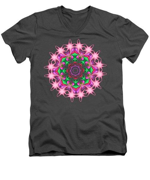 Rose Garden Men's V-Neck T-Shirt