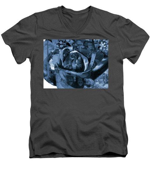 Rose No 1 Men's V-Neck T-Shirt
