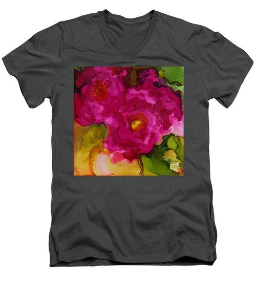 Rose To The Occation Men's V-Neck T-Shirt