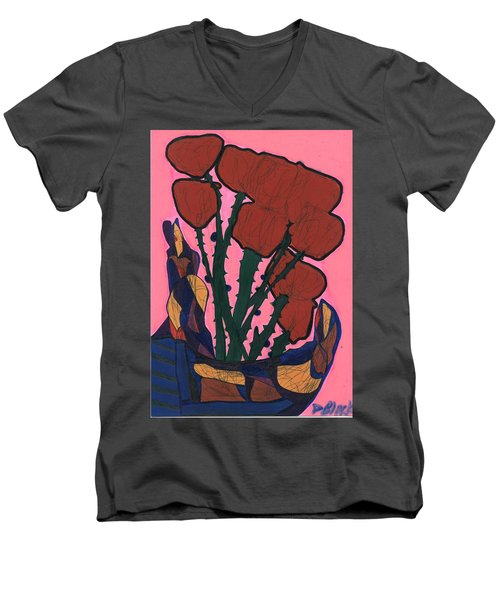 Rosebed Men's V-Neck T-Shirt