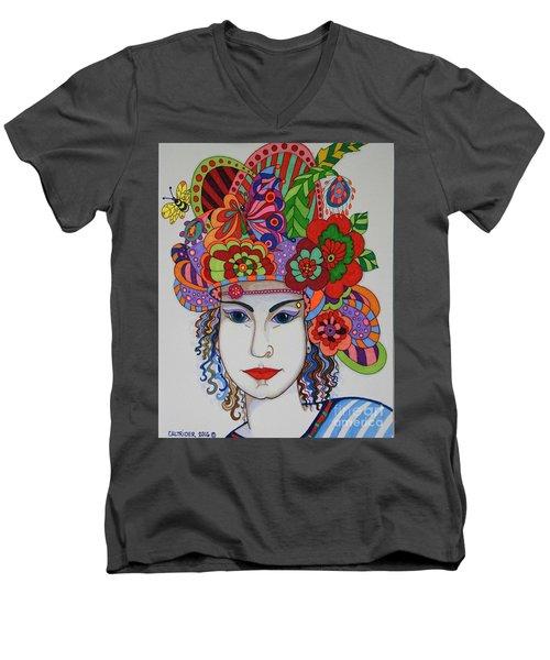 Rosemary Men's V-Neck T-Shirt