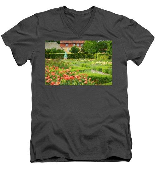 Rosenhaven  Men's V-Neck T-Shirt