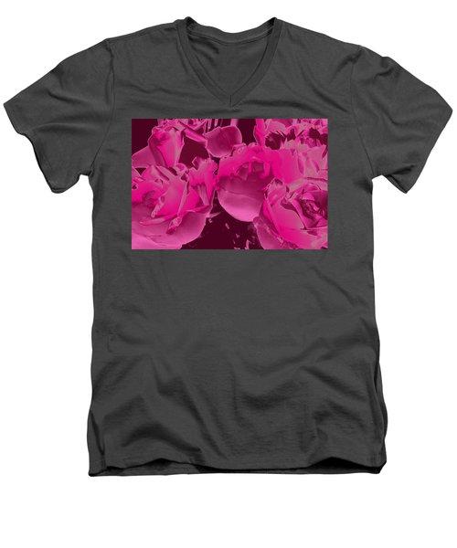 Roses #5 Men's V-Neck T-Shirt
