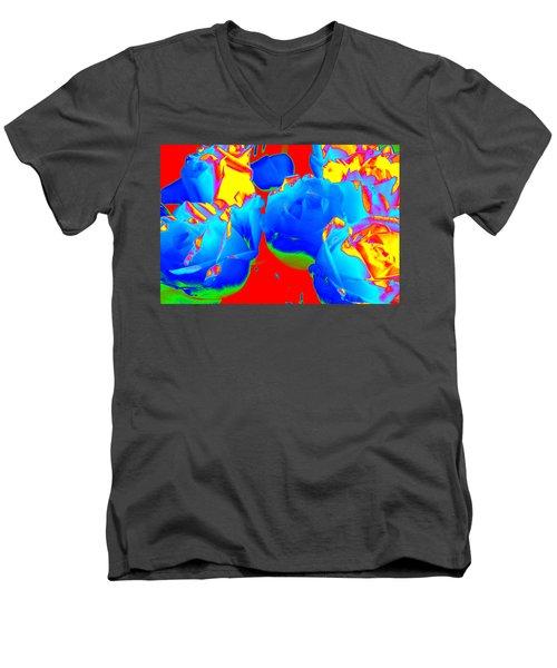 Roses #6 Men's V-Neck T-Shirt