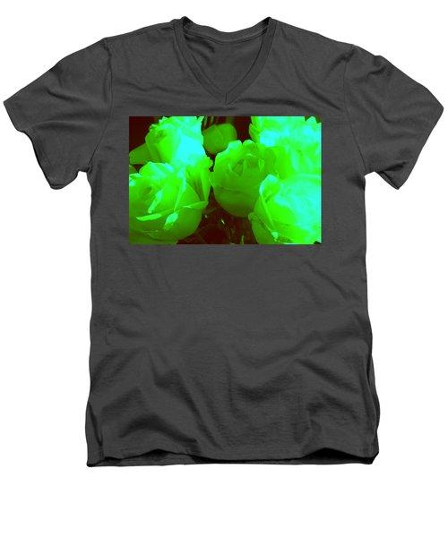 Roses #8 Men's V-Neck T-Shirt