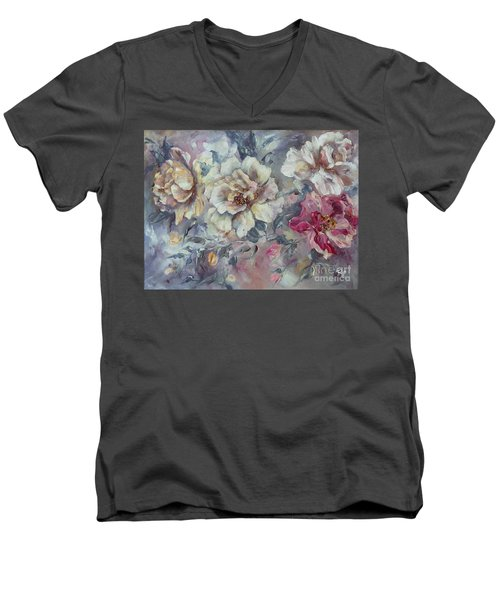 Roses From A Friend Men's V-Neck T-Shirt