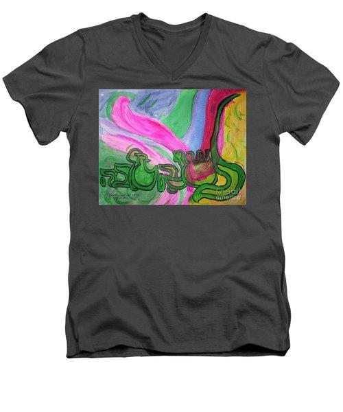 Rosh Hashannah L'shanna Tova Men's V-Neck T-Shirt