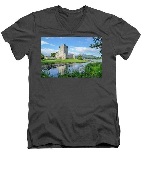 Ross Castle Men's V-Neck T-Shirt