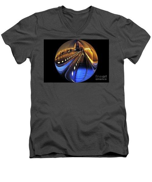 Rosslyn Metro Station Men's V-Neck T-Shirt